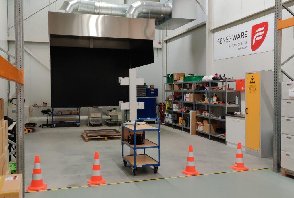 Fire test lab